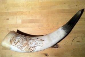 Warrior Horn by nitesdarkangel