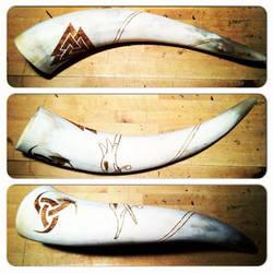 Custom Horn by nitesdarkangel