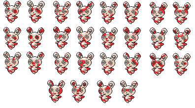 Spinda GSC Style by Piacarrot