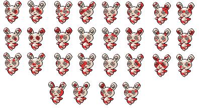 spinda patterns