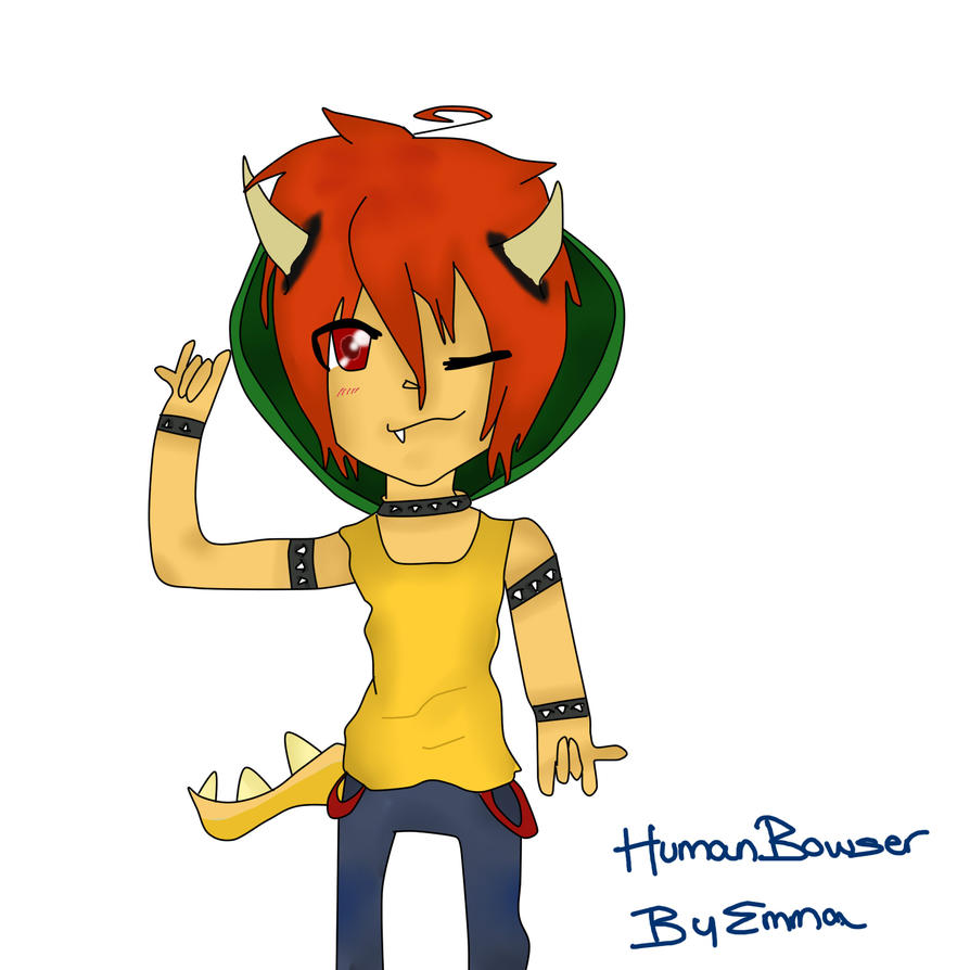 human bowser by ohemmagee on deviantart