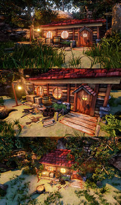 Farmer's Cottage - Unreal Engine 4