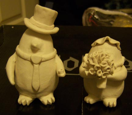 Artist Wedding Cake Toppers : Wedding Cake toppers by BloodElfChrissy on DeviantArt