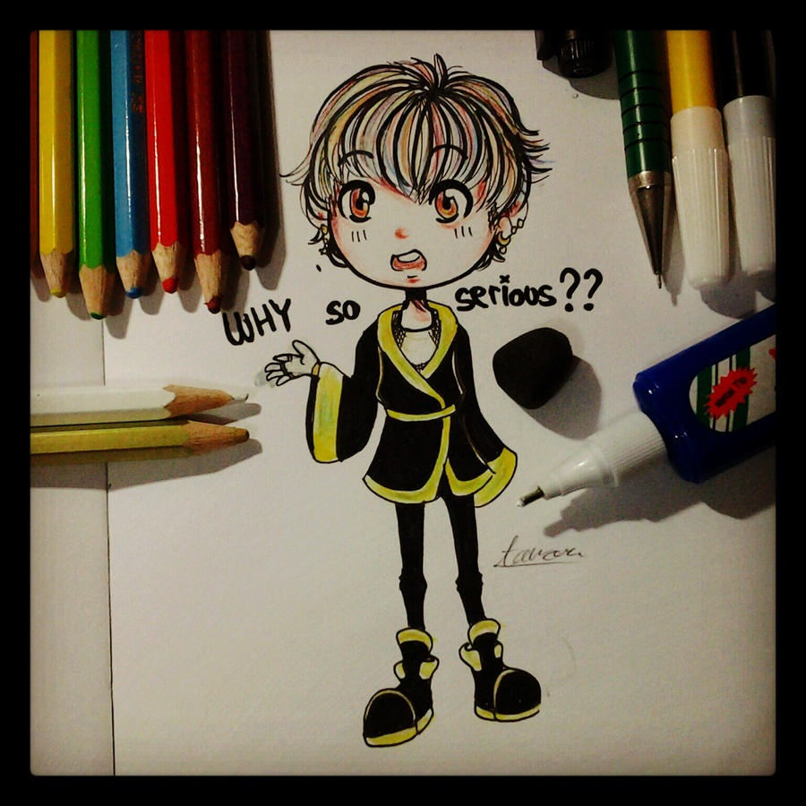 DeviantArt: More Like G-Dragon - Why so serious? by CipeHeheLOL