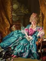 Constance Peach after Boucher by wrightair