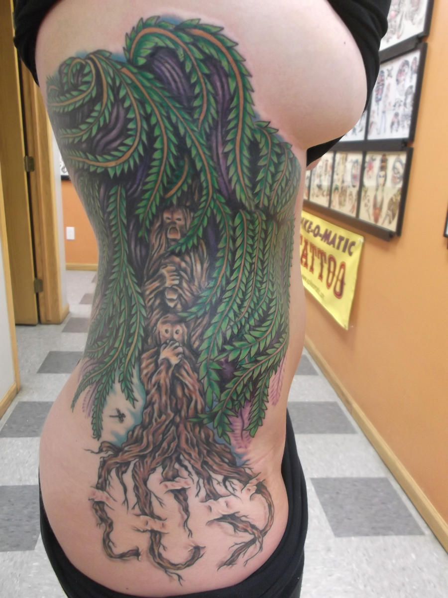 Willow tree by flipmccoy on deviantart for Willow tree tattoo