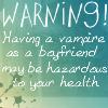 Vampire boyfriend by XGoldenEternityX