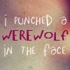 Punched a werewolf by XGoldenEternityX