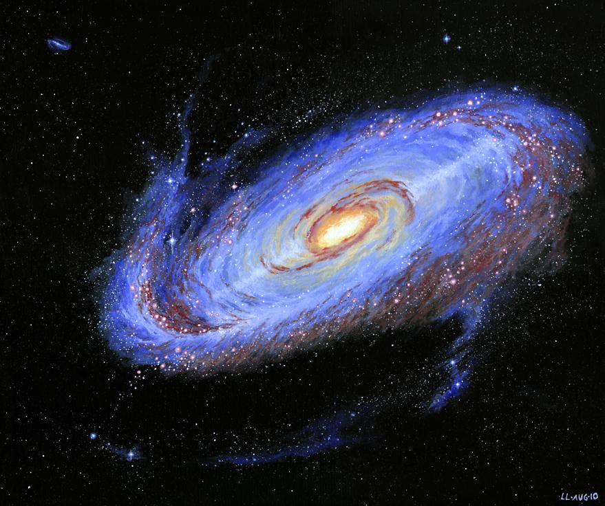 Galaxy by Loulin