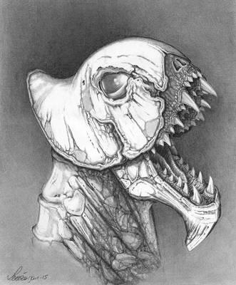 Roar of the ghost by Loulin