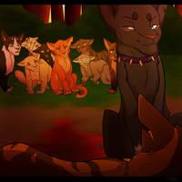 Tigerstar's Death by PureSpiritFlower