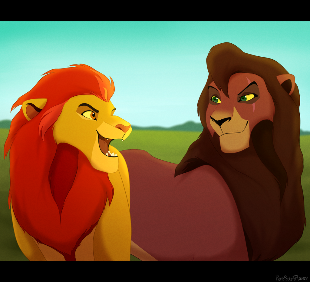 Kovu x kopa kion on advanced tlk deviantart - Kion le roi lion ...