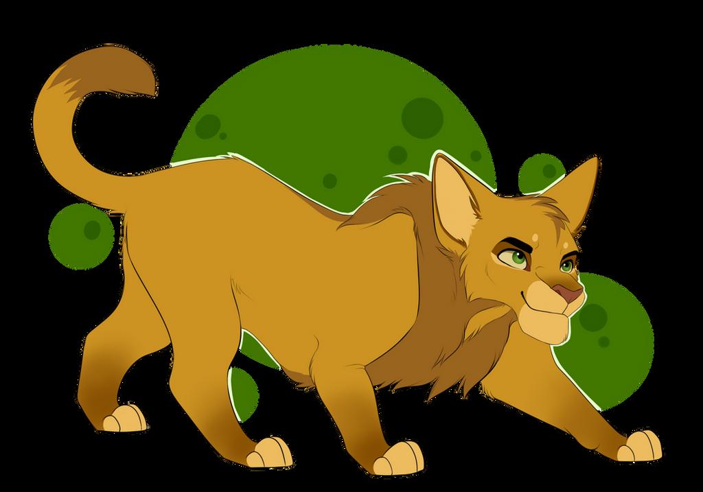Simba Warrior Cat