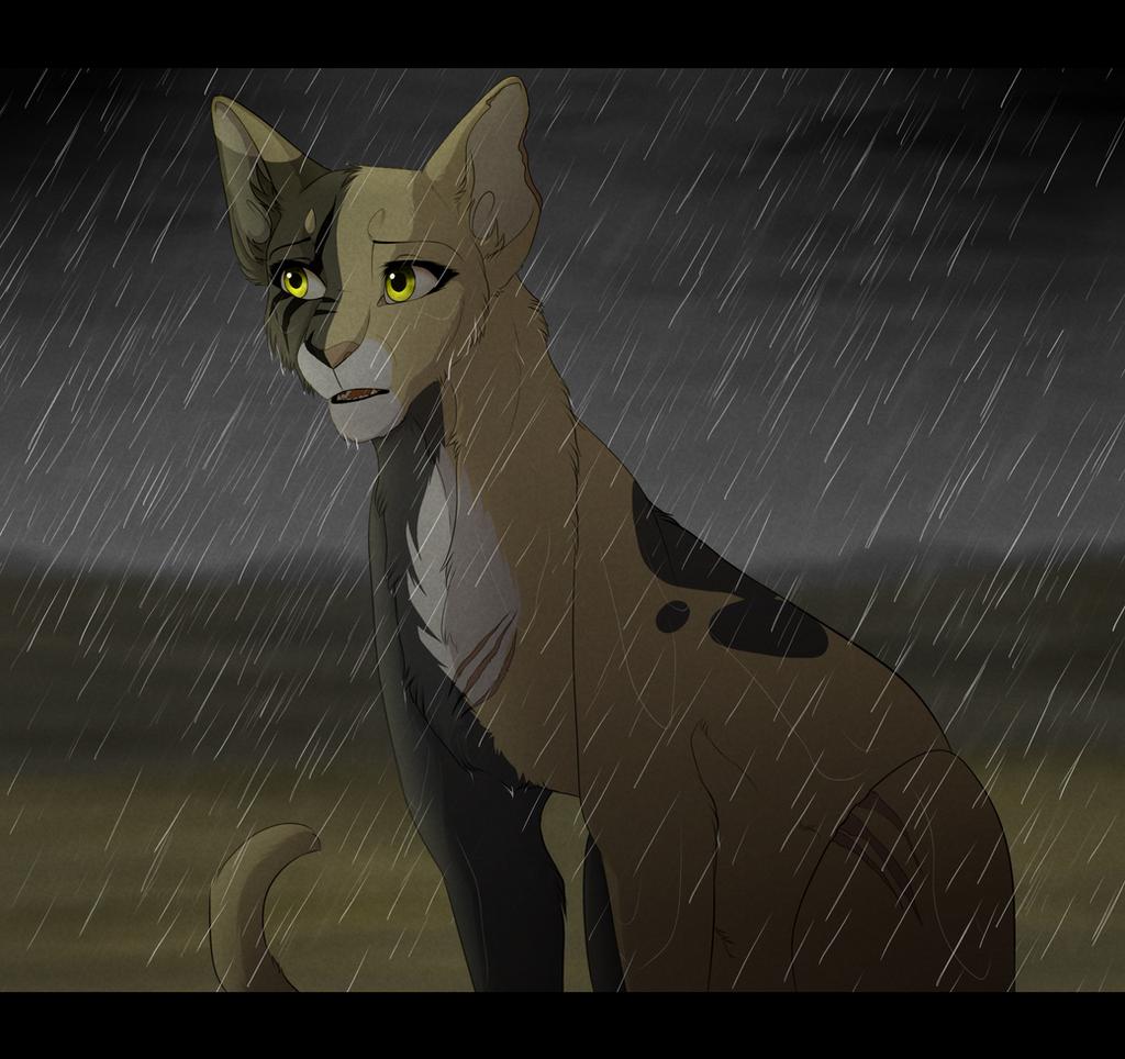 In The Rain by PureSpiritFlower