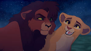 Kovu and Kiara  screenshot redraw