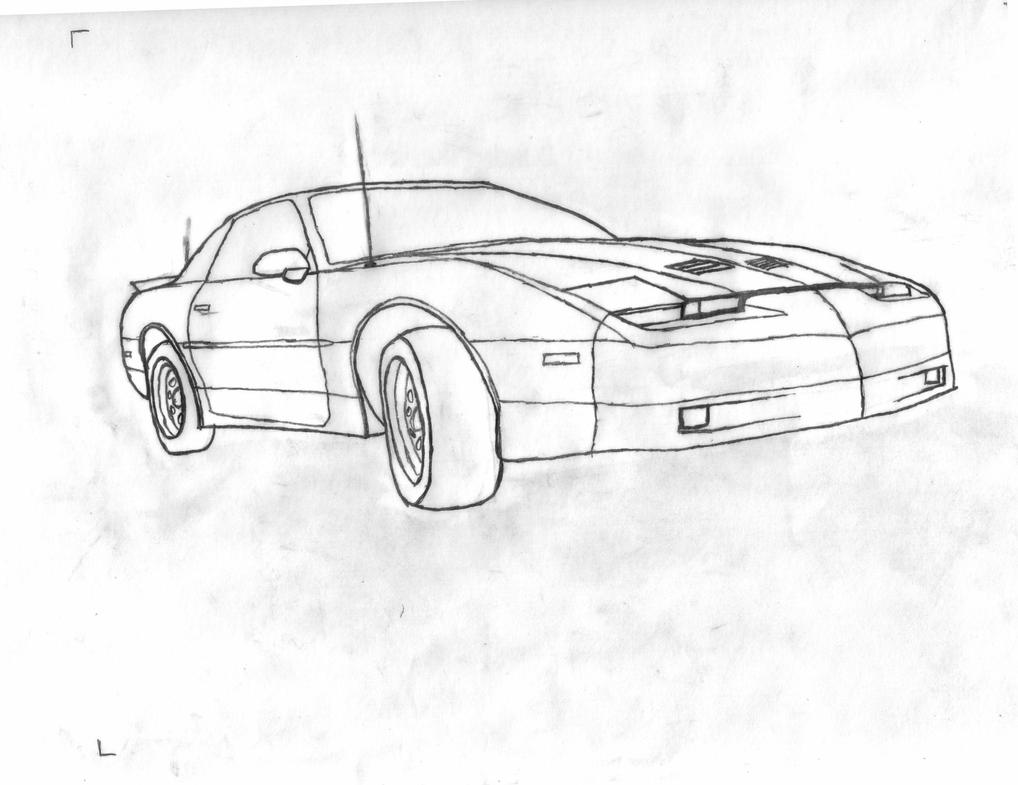 Isometric Drawing Car