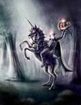 Headless Horseman on a Unicorn