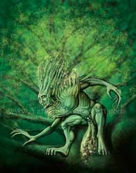 Canotila Tree Spirit by Yarkspiri