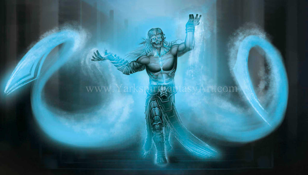 Ghost Sorcerer by Yarkspiri