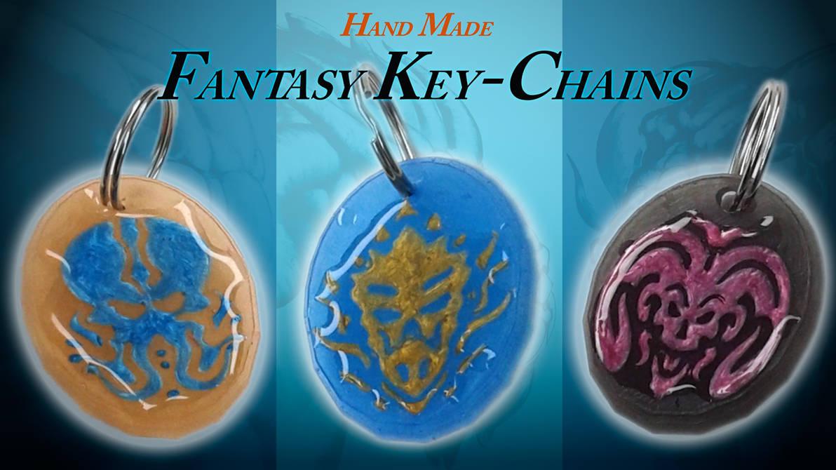 Sneak Peak - Limited Edition Keychains by Yarkspiri
