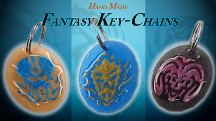 Sneak Peak - Limited Edition Keychains