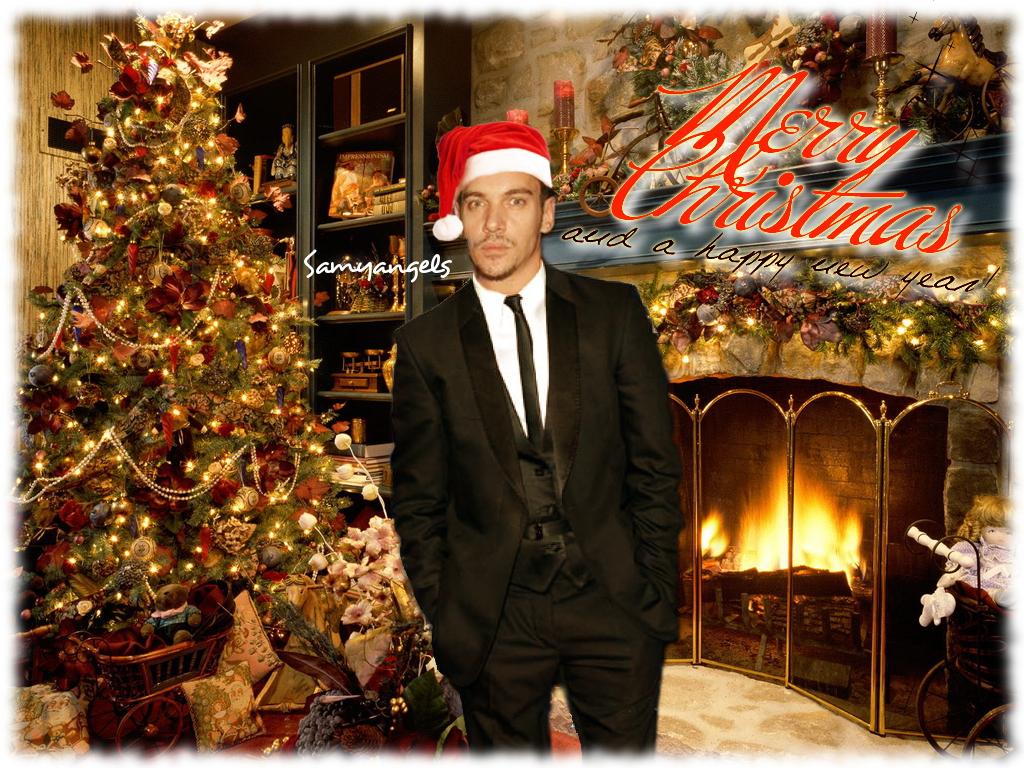 Jonathan Rhys Meyers Merry Christmas I by Samyangels on DeviantArt