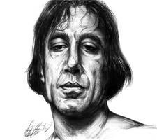 Pen Portrait Chigurh by Marker-Mistress
