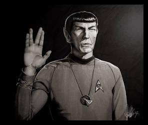 Mr. Spock Retouched by Marker-Mistress