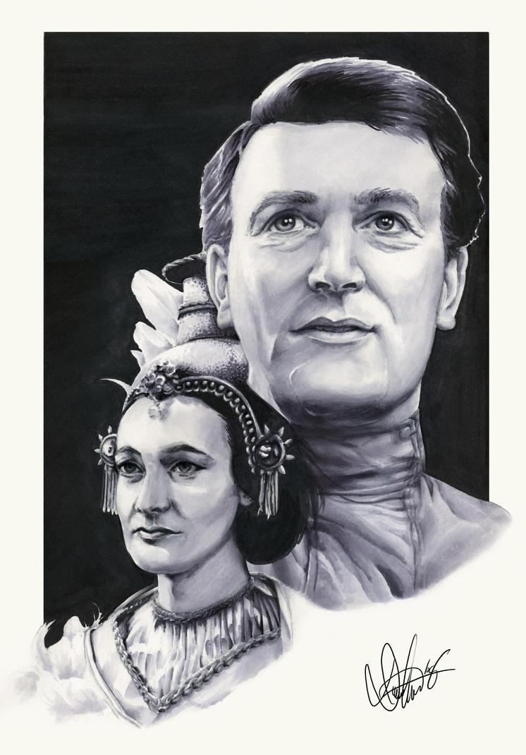 Companions - Ian and Barbara by Marker-Mistress