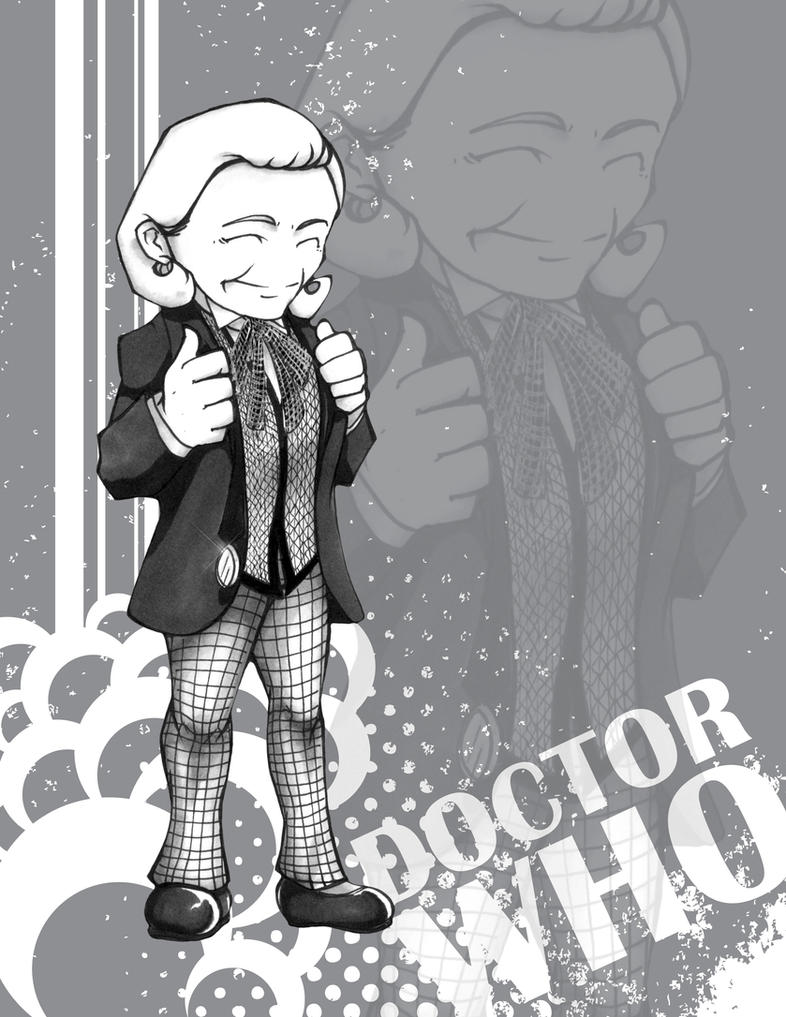 Doctor Who - William Hartnell by Marker-Mistress