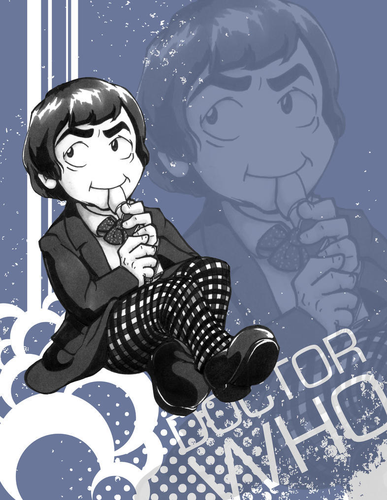 Doctor Who - Patrick Troughton by Marker-Mistress