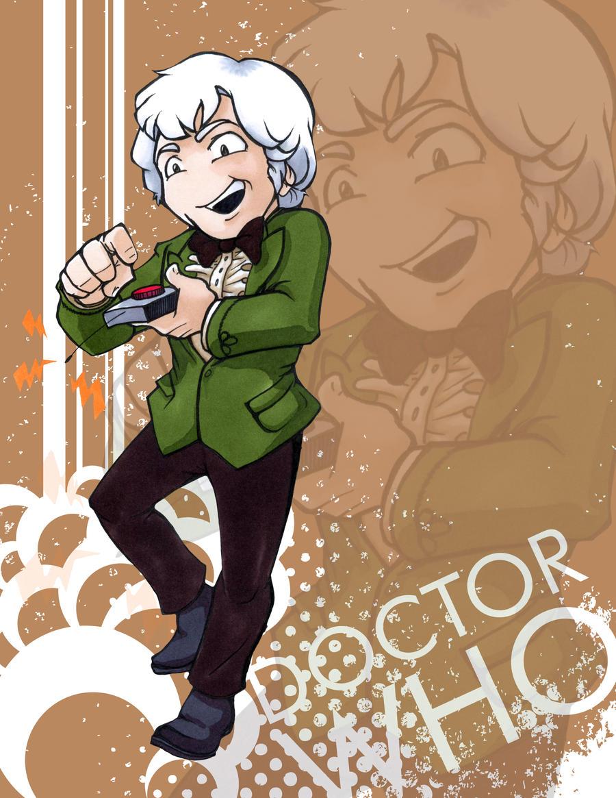 Doctor Who - Jon Pertwee by Marker-Mistress