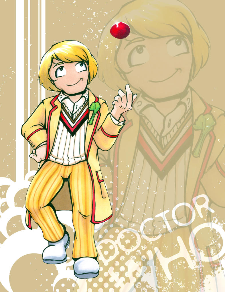 Doctor Who - Peter Davison by Marker-Mistress