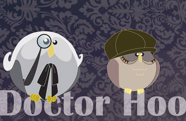 Doctor Hoo - One and Susan by Marker-Mistress