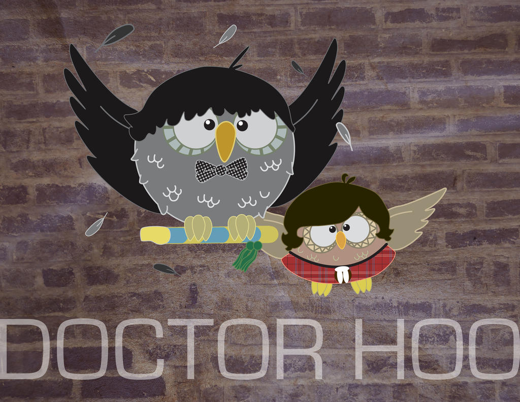 Doctor Hoo - Two and Jamie by Marker-Mistress