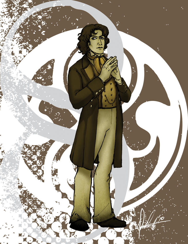 The Eighth Doctor by Marker-Mistress