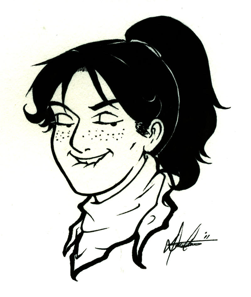 Accurate Self Portrait by Marker-Mistress