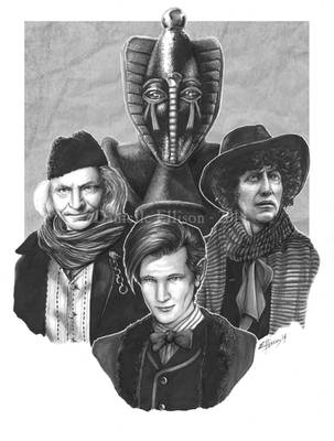 The Three Doctors - Sutekh Edition by Marker-Mistress