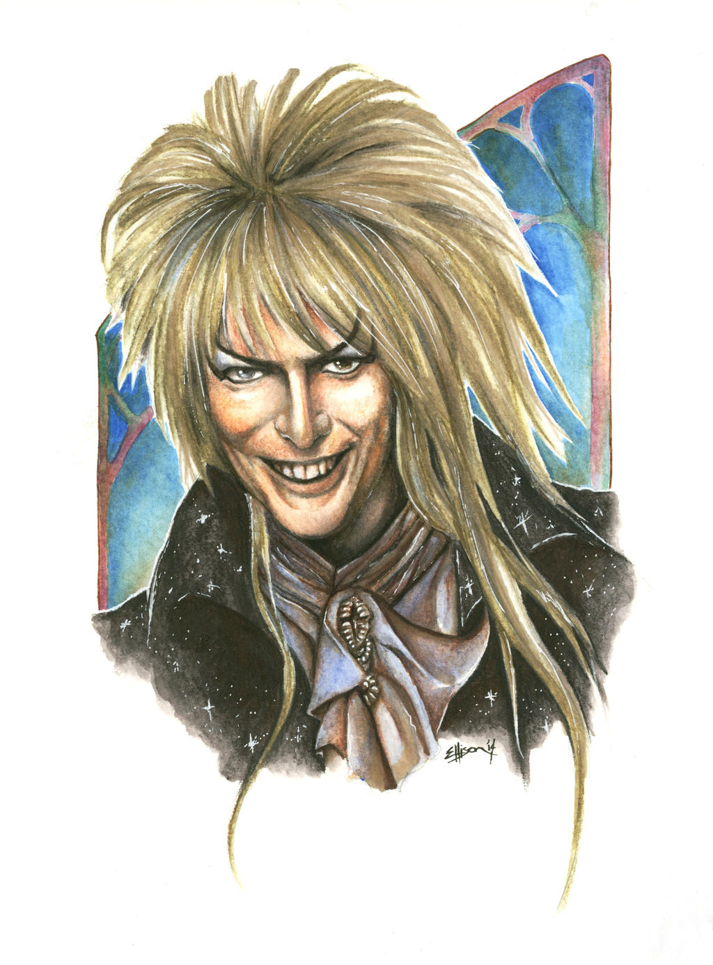 Jareth the Goblin King by Marker-Mistress
