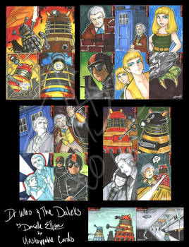 Dr. Who and the Daleks for Unstoppable Cards
