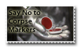 Corpse Marker Stamp by Marker-Mistress