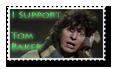Tom Baker Stamp by Marker-Mistress