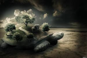 Big Turtle by iLeeh95