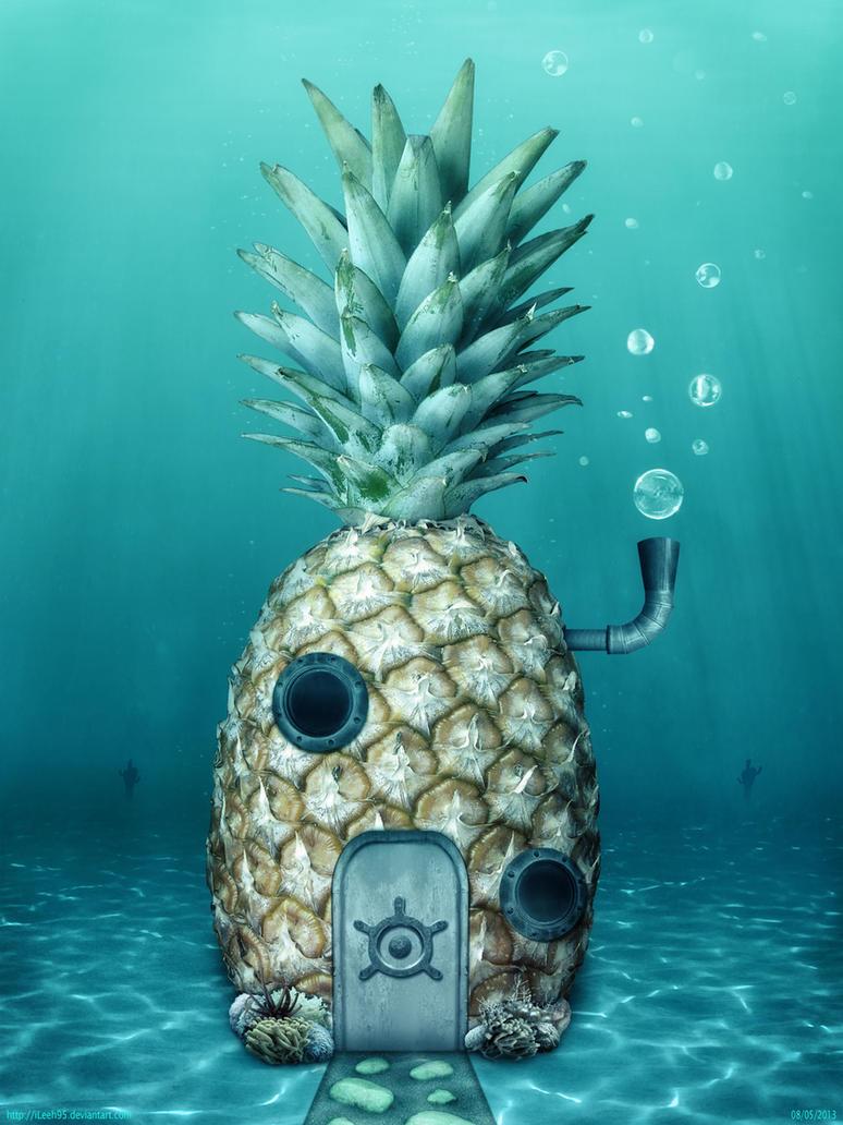 SpongeBob s House by iLeeh95Real Spongebob House