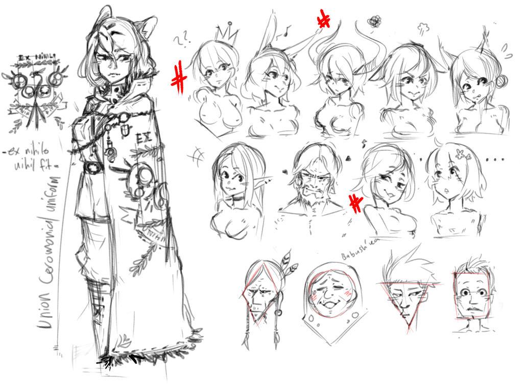face practice by kinmonon