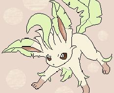 Leafeon:Colored by kawaiipikachu12