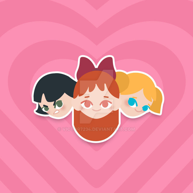 Powerpuff Girls by victor7234