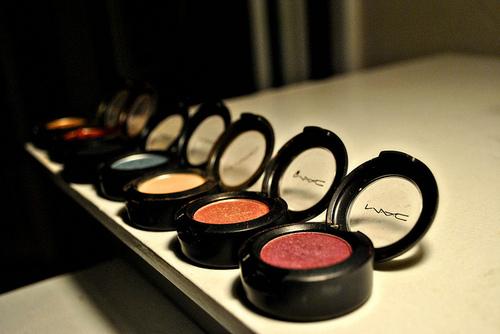 MAC eyeshadows by stylejudi