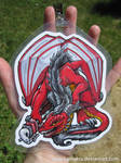 Red Dragon Full Detail Badge