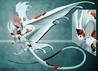 Koi Dragon Design (adoptable) - Auction CLOSED by Kamakru